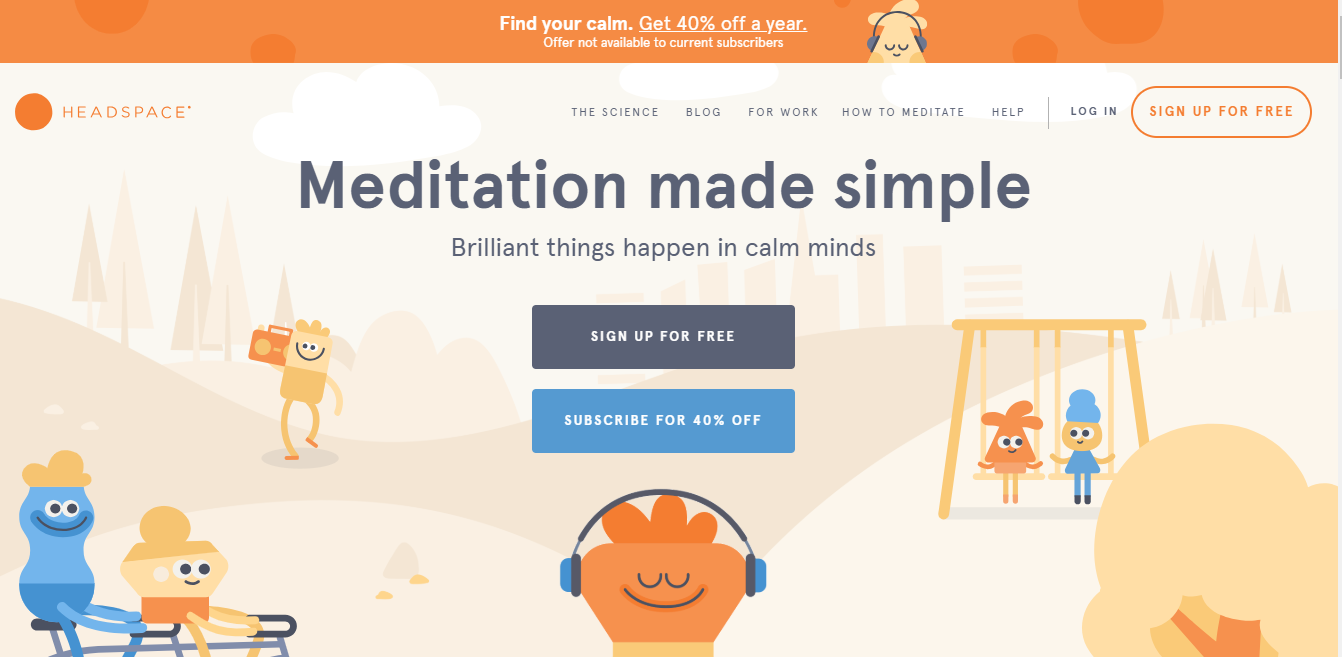 Headspace web
