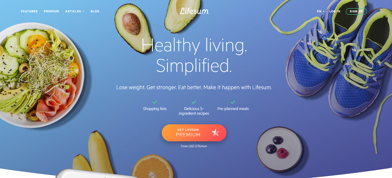 lifesum website