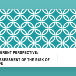 A different perspective: The assessment of the risk of suicide